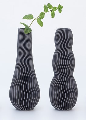 Vase ondulation Vase « wave » VaseOndulation3