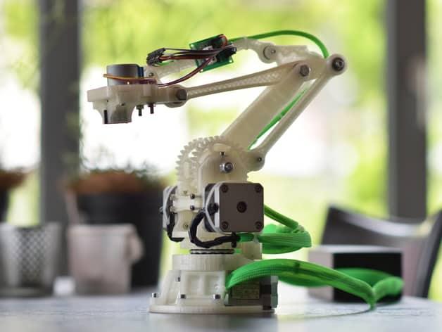 Bras robotique  Bras robotique 3D BrasRobotique