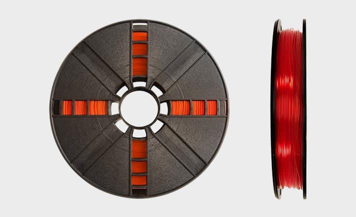 PLA Makerbot translucide makerbot orange translucide