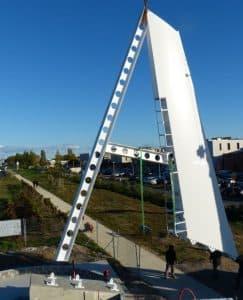 projet du A de l'aéroport de montpellier instal 243x300