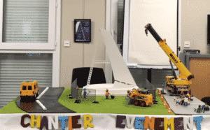 projet du A de l'aéroport de montpellier maquette du A 300x186